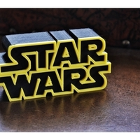 Small Star Wars Logo 3D Printing 157343