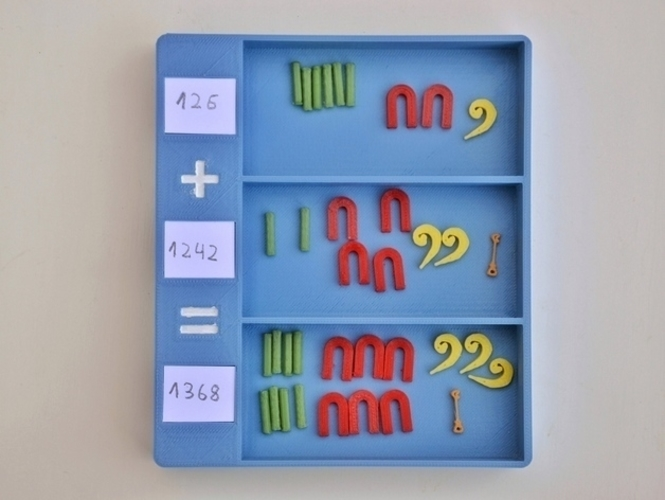 Egyptian numbers math 3D Print 157353