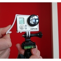 Small Quick Release GoPro Hero Frame 3D Printing 157360