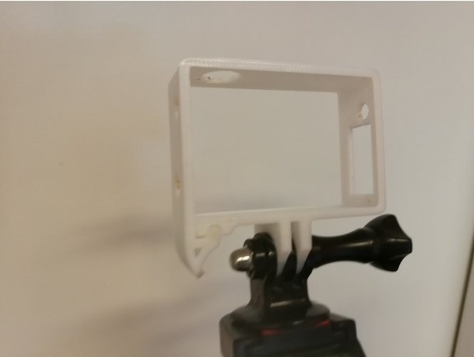 Quick Release GoPro Hero Frame 3D Print 157361