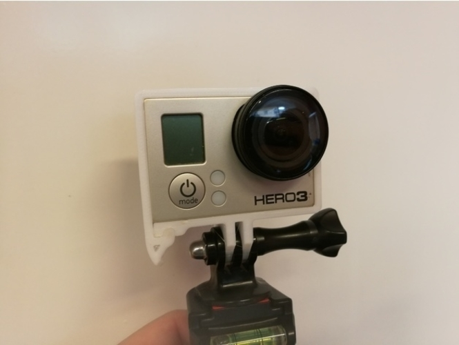 Quick Release GoPro Hero Frame 3D Print 157362