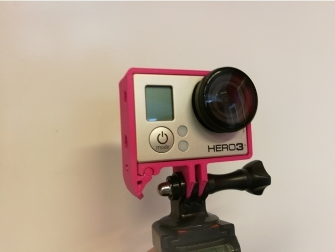 Quick Release GoPro Hero Frame 3D Print 157365
