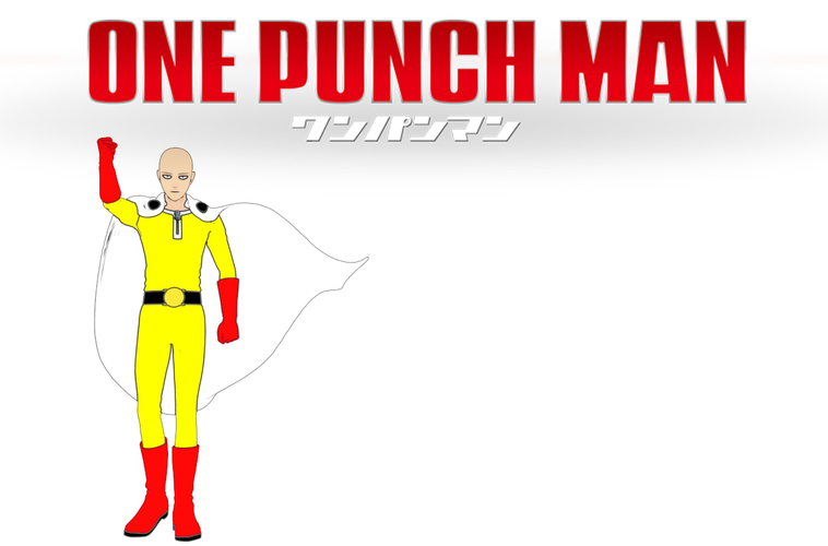 Saitama! ONE PUNCH MAN ! Full body 3 resolutions 3D Print 157373