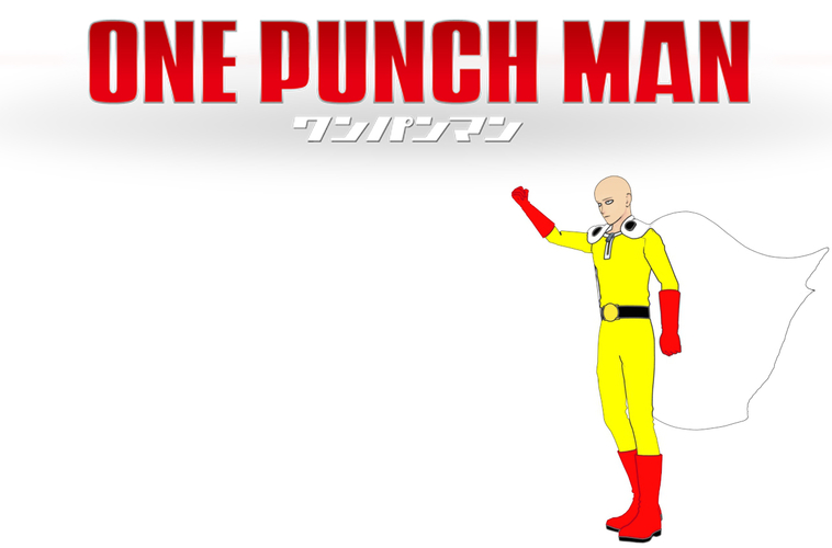 Saitama! ONE PUNCH MAN ! Full body 3 resolutions 3D Print 157374