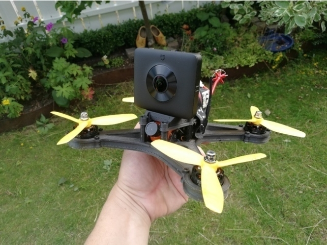 360 Camera Mount for OpenRC Mini Quad 3D Print 157381