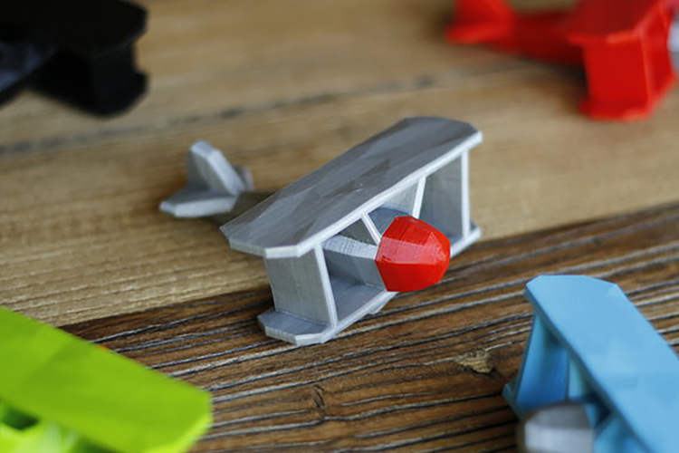 Stoyries - Low-Poly Plane 3D Print 157437