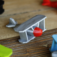 Small Stoyries - Low-Poly Plane 3D Printing 157437