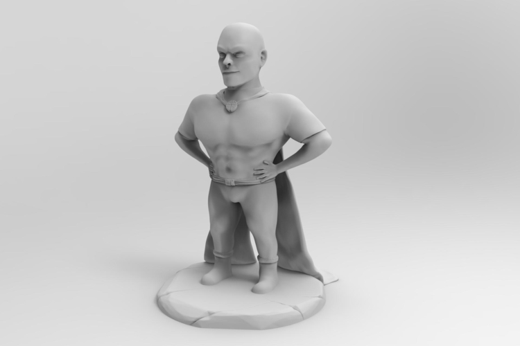 Mr Awesome 3D Print 157469