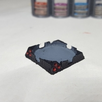 Small Star Wars Imperial Assault Squad Bases 3D Printing 157470