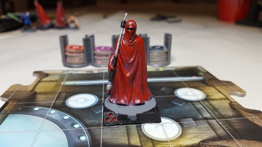 Star Wars Imperial Assault Squad Bases 3D Print 157472