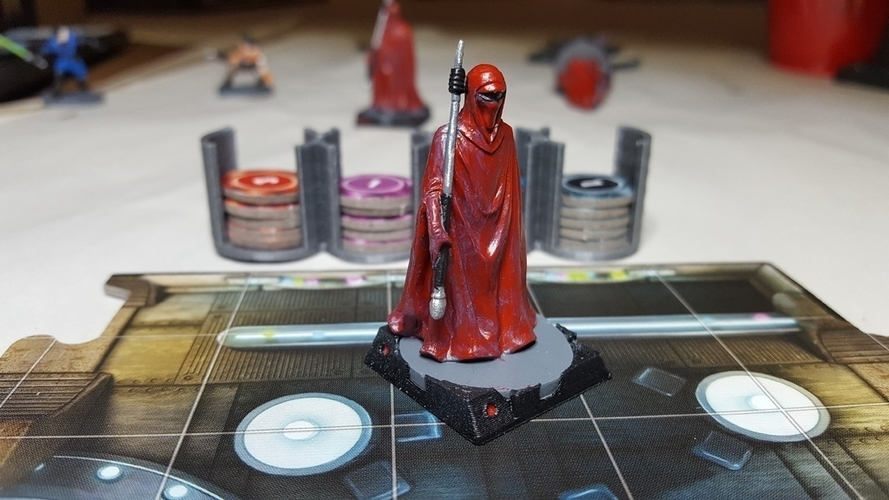 Star Wars Imperial Assault Squad Bases 3D Print 157473
