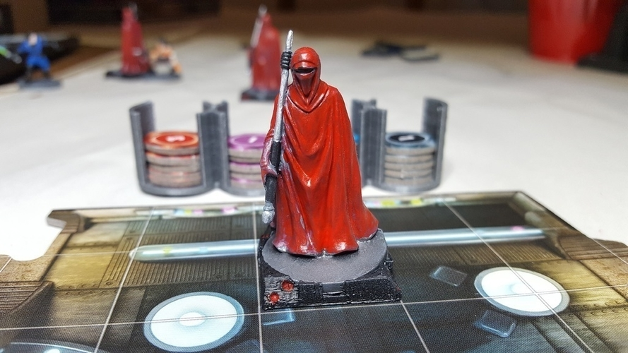 Star Wars Imperial Assault Squad Bases 3D Print 157474