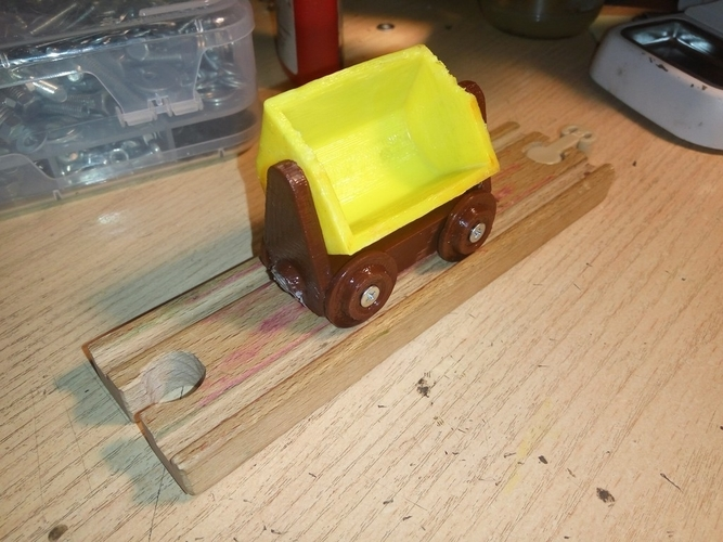 Coal Car for Brio railroad 3D Print 157547