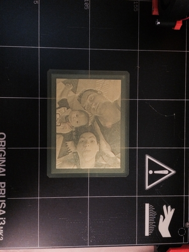 MY FAMILY LITHOPHANE 3D Print 157550