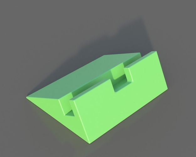 Simple Phone Stand 3D Print 157583