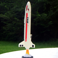 Small Model Rocket Display Bases 3D Printing 157587