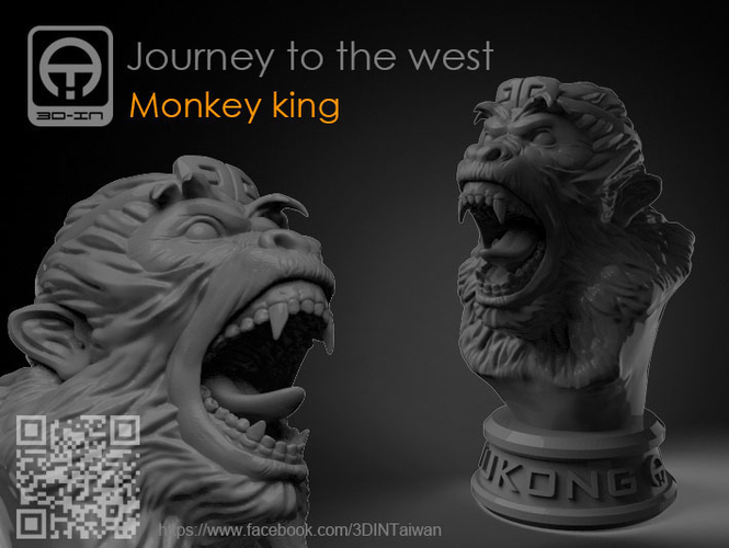 Journey to the West - Monkey king 3D Print 157604