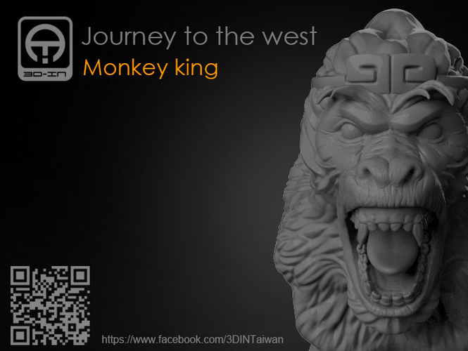 Journey to the West - Monkey king 3D Print 157605