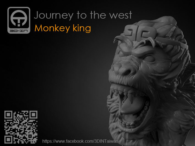 Journey to the West - Monkey king 3D Print 157606