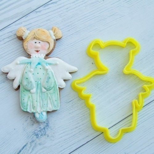 Angel number 7 cookie cutter for professional 3D Print 157770