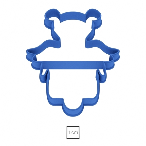 Angel number 7 cookie cutter for professional 3D Print 157771