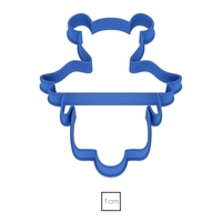 Small Angel number 7 cookie cutter for professional 3D Printing 157771
