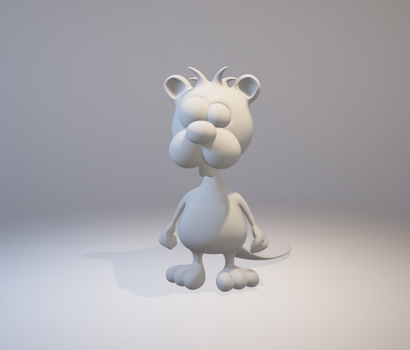 Crazy Mr. Beaver - Avatar 3D Print 157847