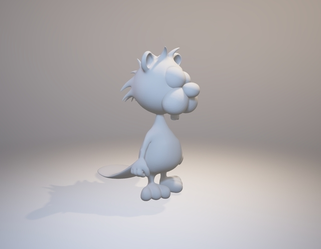 Crazy Mr. Beaver - Avatar 3D Print 157848