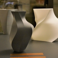 Small Contemporary 7-Vase Collection 3D Printing 157876