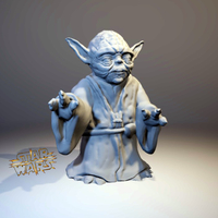 Small STAR WARS - Yoda with ninja skills 3D Printing 157887