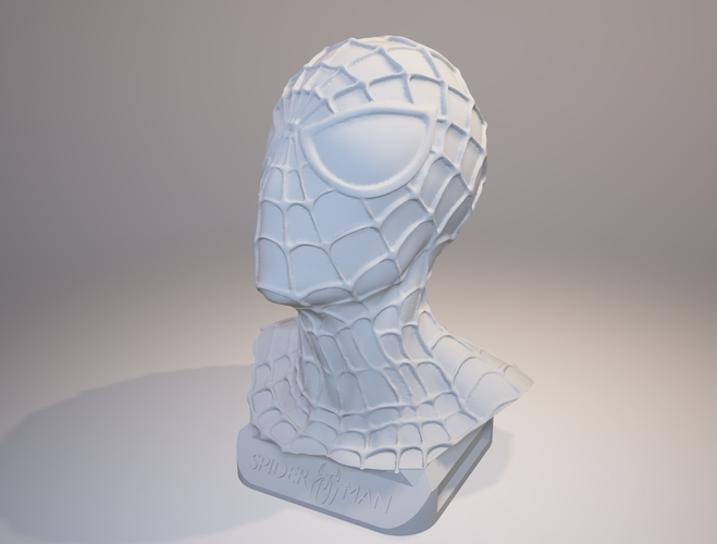 Spiderman Bust 3D Print 157899