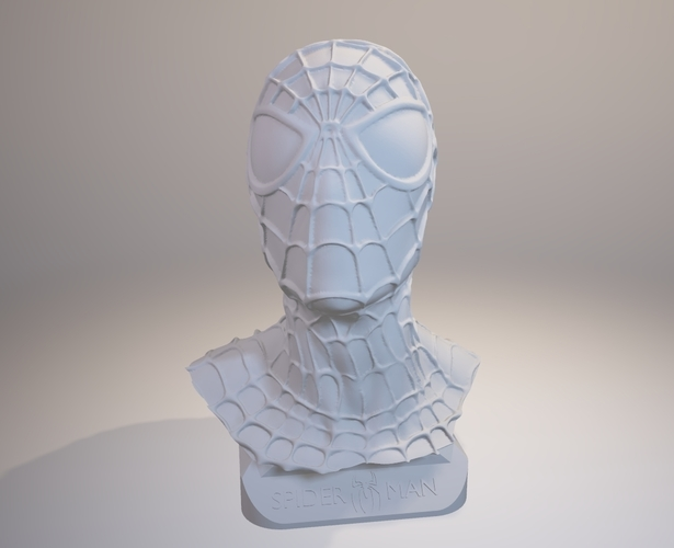 Spiderman Bust 3D Print 157900