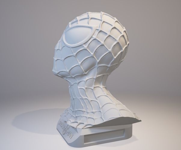Spiderman Bust 3D Print 157901