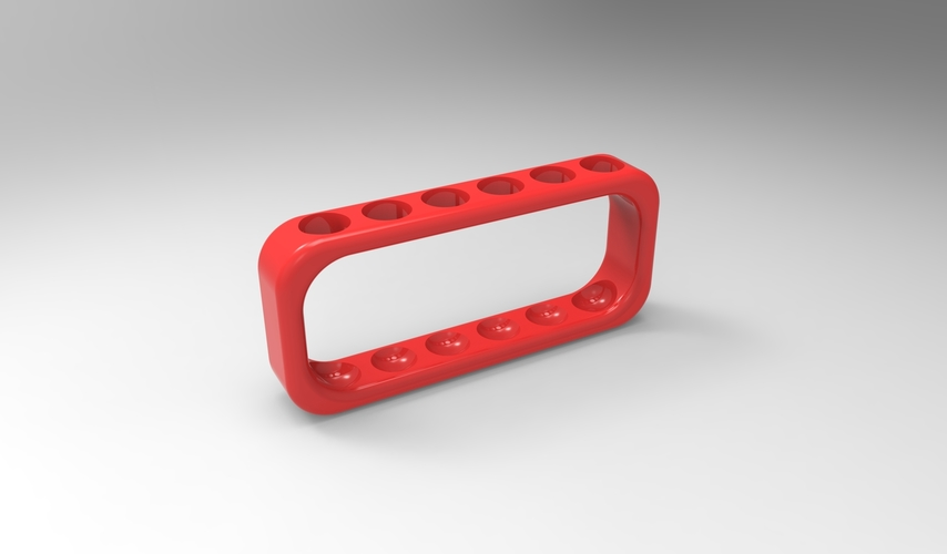 test tube rack (physical) 6 tube 3D Print 157914