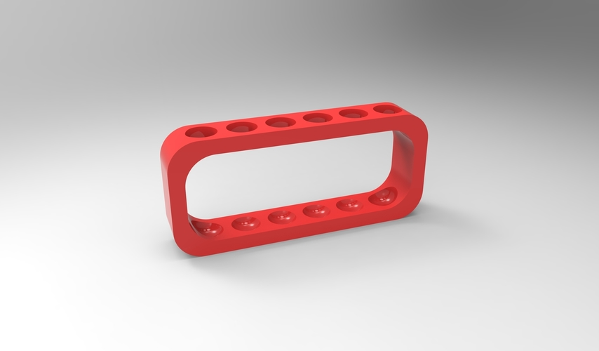 test tube rack (physical) 6 tubes 3D Print 157915