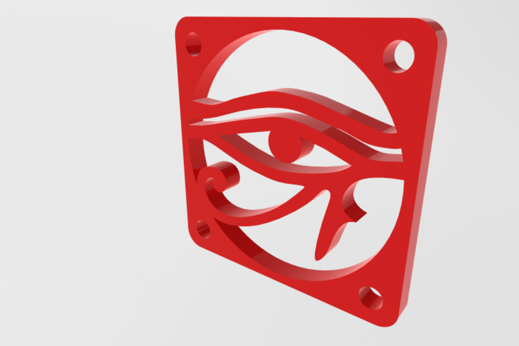 fan grill 40mm horus  3D Print 157942