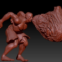 Small SF - Dhalsim -Floating and You Got Flame pose - Flame incl. 3D Printing 157973