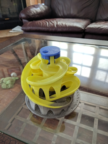 The 3D Printed Marble Machine #3 - Designed by Tulio Laanen 3D Print 157988