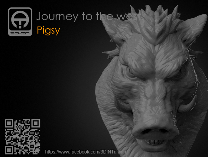 Journey to the West - Pigsy 3D Print 158130