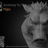 Small Journey to the West - Pigsy 3D Printing 158130