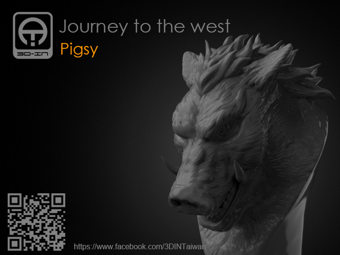 Journey to the West - Pigsy 3D Print 158131
