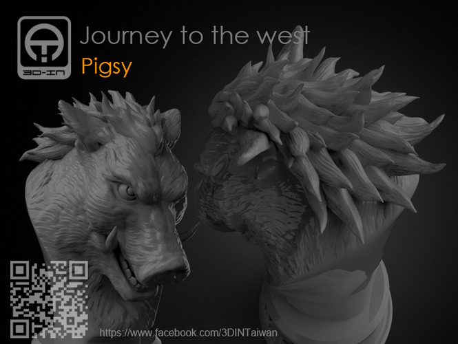 Journey to the West - Pigsy 3D Print 158132