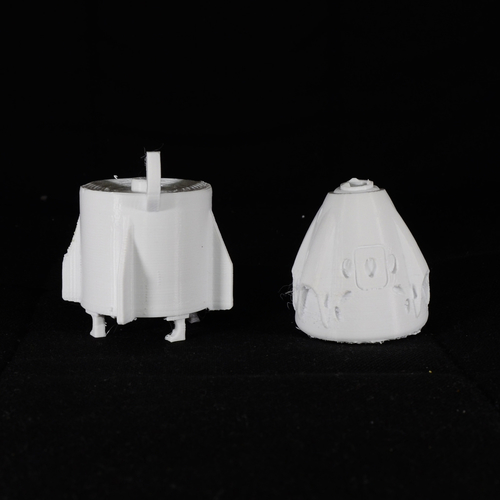 SpaceX Falcon Heavy Expansion Kit for Falcon 9 Model 3D Print 158182