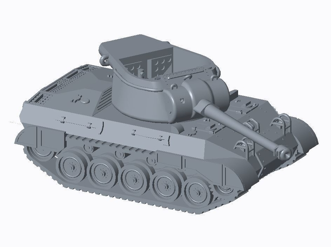 Allied Tank Destroyer Pack  3D Print 158190