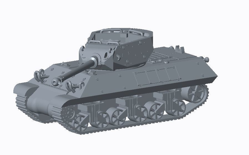 Allied Tank Destroyer Pack  3D Print 158192