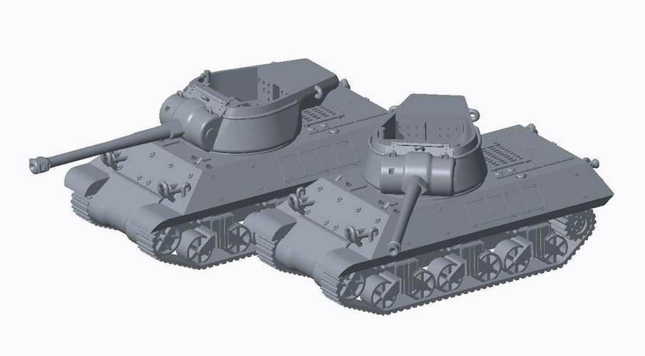 Allied Tank Destroyer Pack  3D Print 158193