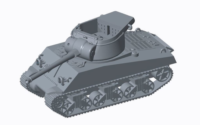 Allied Tank Destroyer Pack  3D Print 158194