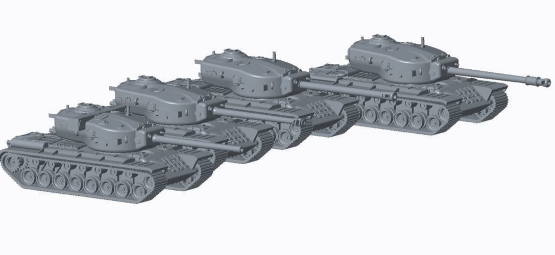 Allied Super Heavy Pack 3D Print 158197