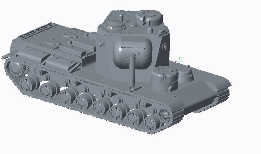 Allied Super Heavy Pack 3D Print 158199