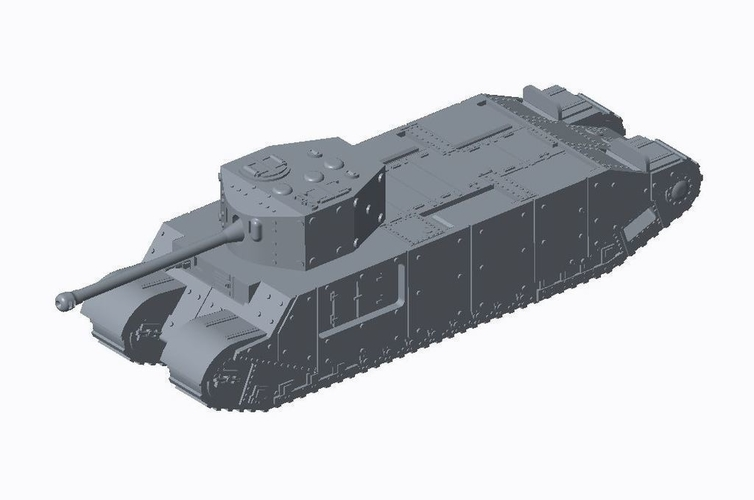 Allied Super Heavy Pack 3D Print 158201
